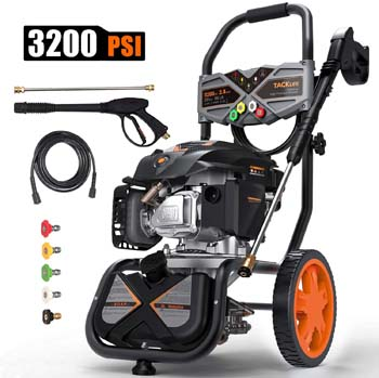 3. TACKLIFE 3200PSI Pressure Washer