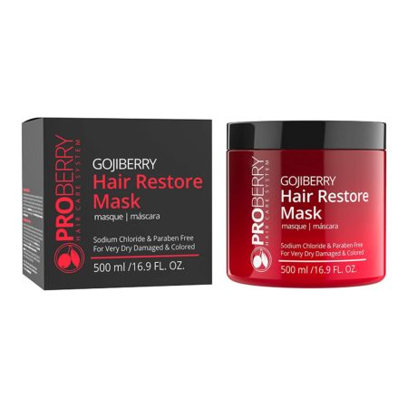Goji Berry Hair Mask For Damaged Hair