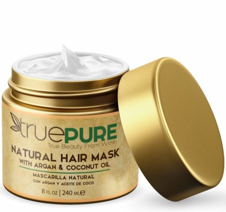 TruePure Natural Hair Mask and Argan Oil Treatment