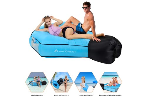 1. Air Sofa Hammock-Couch Air Chair with Pillow