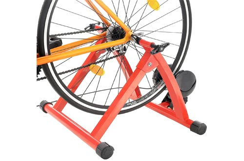 2. RAD Cycle Products Max Racer Portable Bicycle Trainer Work Out Machine