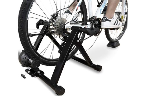 3. BalanceFrom Bike Trainer Stand Steel Bicycle Exercise Magnetic Stand