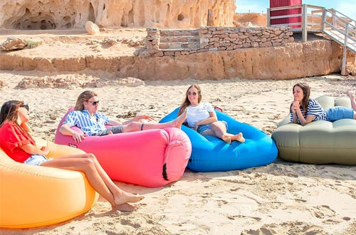 3. Fatboy Lamzac Original Inflatable Air Lounger