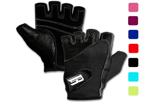 4. RIMSports Gym Gloves for Weight Training - Premium Quality Weights Lifting Gloves