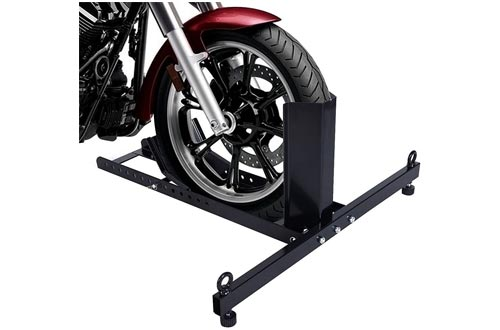 6. EGO Adjustable Motorcycle Stand Wheel Chock