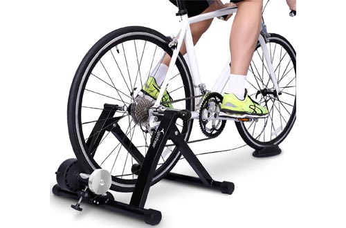 7. Sportneer Bike Trainer Stand Steel Bicycle Exercise