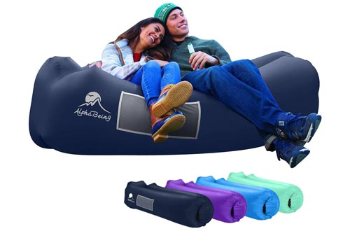 8. AlphaBeing Inflatable Lounger - Ideal Inflatable Couch for Pool and Beach Parties