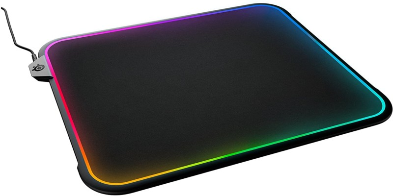 #1. SteelSeries LED Mouse Pad