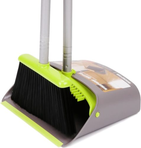 # 1.  TreeLen Dustpan and Broom Set with Long Handle