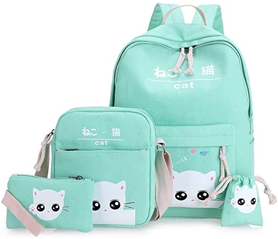 #10. Hainan School bags for Teenagers Set
