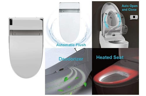 10. WOODBRIDGE Smart Bidet Seat Toilet with Remote Control