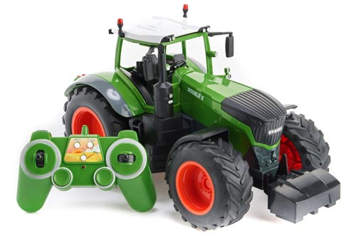 2. Cheerwing RC Farm Tractor Remote Control, RC Construction Toy