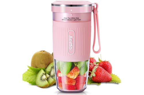 2. Portable Blender, Personal Blender Juicer, Mini Maker Fruit Blender Bottle Cup