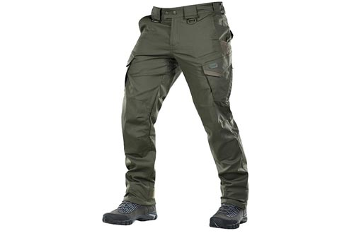 3. M-Tac Store slim fit tactical Pants, Men Cotton with Cargo Pockets