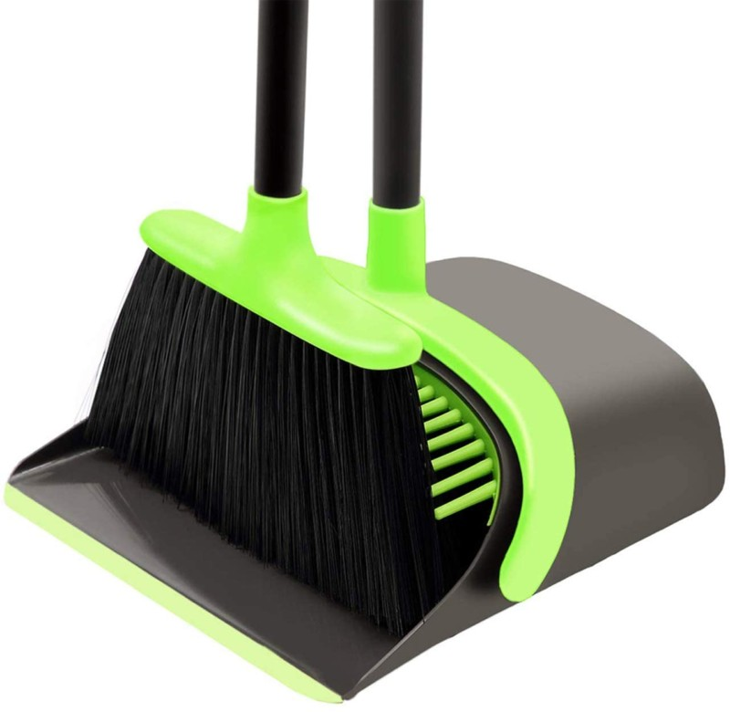 # 3. SANGFOR Dustpan and Broom Set Cleaning Supplies