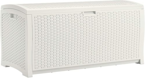 #3. Suncast 99-Gallon Patio Storage Box
