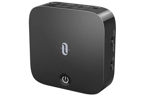 4. TaoTronics Bluetooth 5.0 Transmitter and Receiver