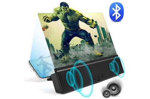 4. WILEVLA 3D Foldable Holder Stand HD Movies Mobile