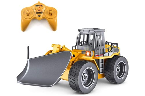 4. fisca RC Truck Remote Control - Vehicle 4WD Tractor Toy with Lights