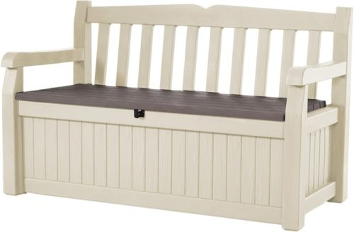 #5. Keter Eden 70-Gallon Outdoor Storage Benches