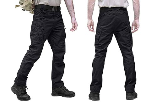6. Diliflyer Cargo Pants for Men – Men's slim fit tactical pants