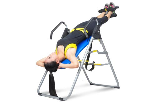 6. YOUTHUP Heavy Duty Inversion Table Health & Fitness