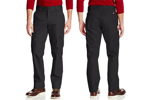 7. Dickies Men's Slim Straight Stretch Twill Cargo slim fit tactical pants