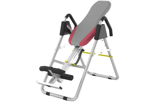 7. HMAMERÂ Fitness Therapy - Adjustable Height Folding Stretching Machine