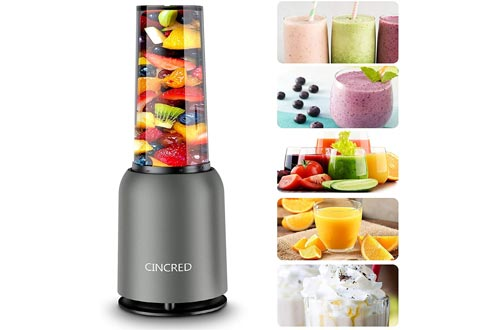 7. Personal Countertop Blender for Milkshake, Mini Portable Food Blenders