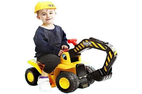 7. Play22 Toy Tractors for Kids - Music Sounds Digger Scooter Tractor Toys