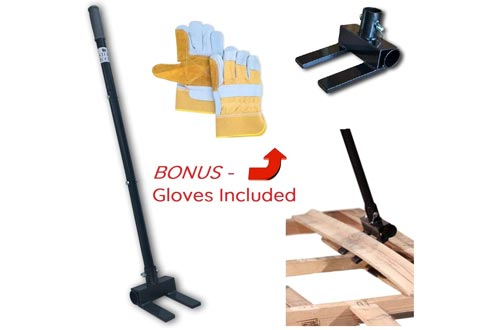 8. Pallet Buster Deck Wrecker Tool by Stoic Tools