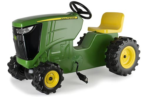 8. TOMY John Deere Pedal Tractors Toy for Kids