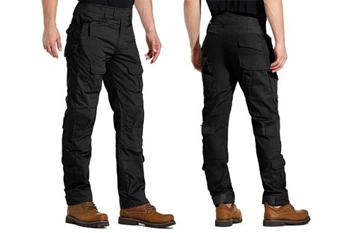 9. AKARMY Men's Military slim fit tactical pants