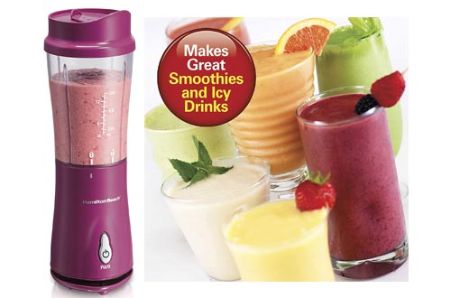 9. Hamilton Beach Personal Blender for Shakes and Smoothies