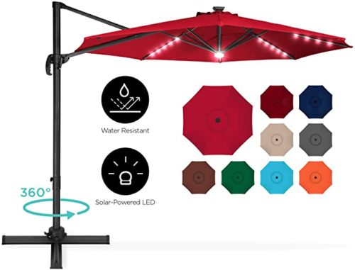 Best Choice Products Offset Patio Umbrella