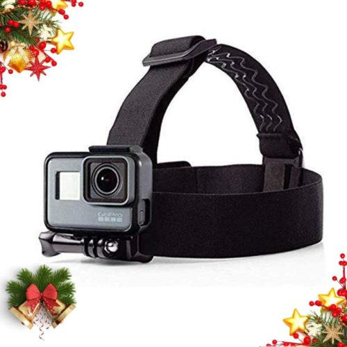 Mojosketch Flexible GoPro Head Strap