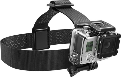 Sabrent Encased Nylon GoPro Head Strap