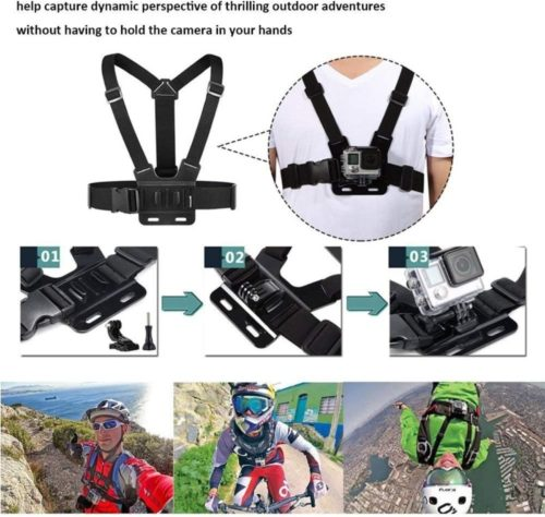 TEKCAM Action Camera GoPro Strap