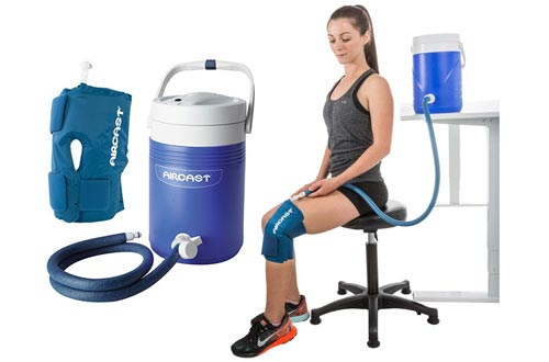 1. Aircast Cryo Cuff Cold Therapy Knee Solution