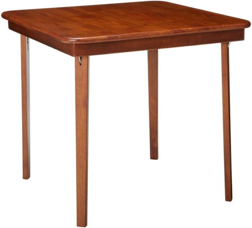 #3. MECO Outdoor Foldable Wood Table