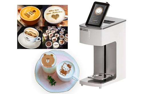 3. WiibooxSweetin Coffee Printer Latte Machine