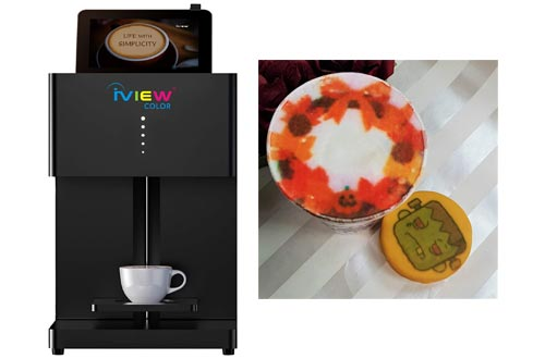 5. iView Picasso Smart Printer Latte Art Maker