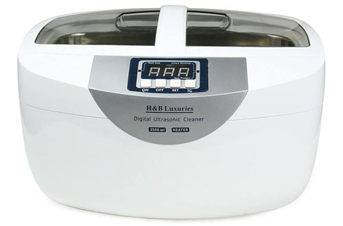 8. H&B Luxuries Digital Heated Ultrasonic Cleaner