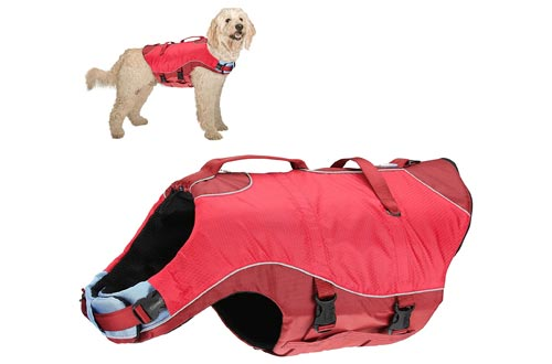 1. Kurgo Water Lifejacket Doggy Floats