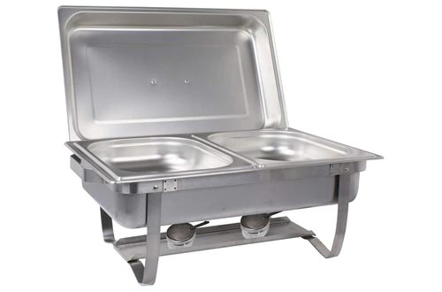 1. Sterno Products Foldable Buffet Chafer Set