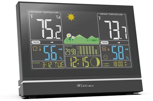 1. Wittime Wireless Indoor Outdoor