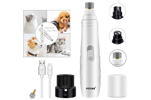 2. Peteme Electric Dog Nail Clippers