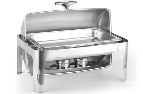 3. ChefMaid Deluxe Chafer Dish Includes Food Pan