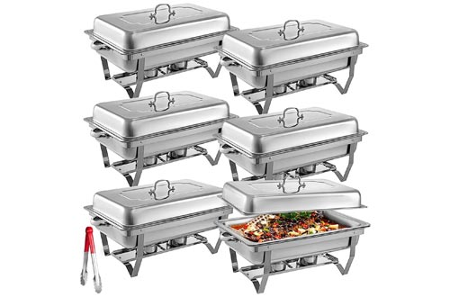 4. Mophorn Stainless Steel Chafing Dishes