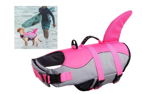 4. Queenmore Dog Life Jacket